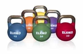 Kettlebells, colored