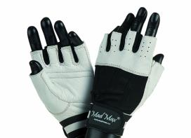 MAD MAX Fitness Gloves CLASSIC (white / black)