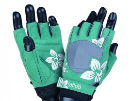 MAD MAX Fitness Gloves Jungle (Green / Cream)