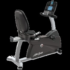 R3 recumbent Lifecycle® exercise bike Track